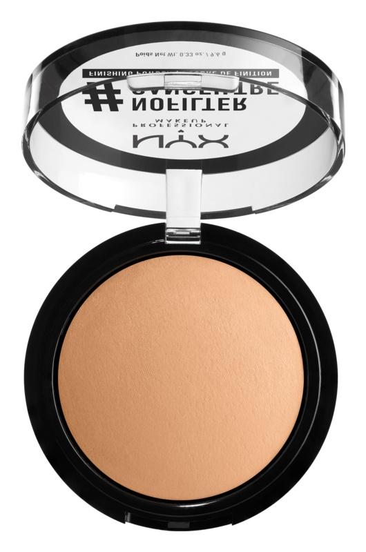NYX Professional Makeup #Nofilter puder