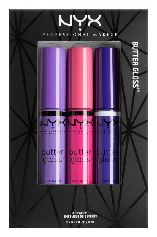 NYX Professional Makeup Butter Gloss kozmetični set I.