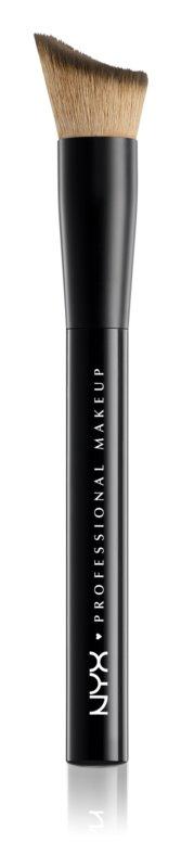 NYX Professional Makeup Total Control Foundation Brush štětec na make-up