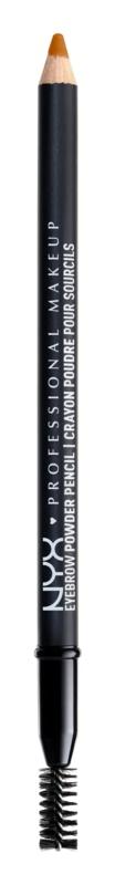 NYX Professional Makeup Eyebrow Powder Pencil tužka na obočí s kartáčkem