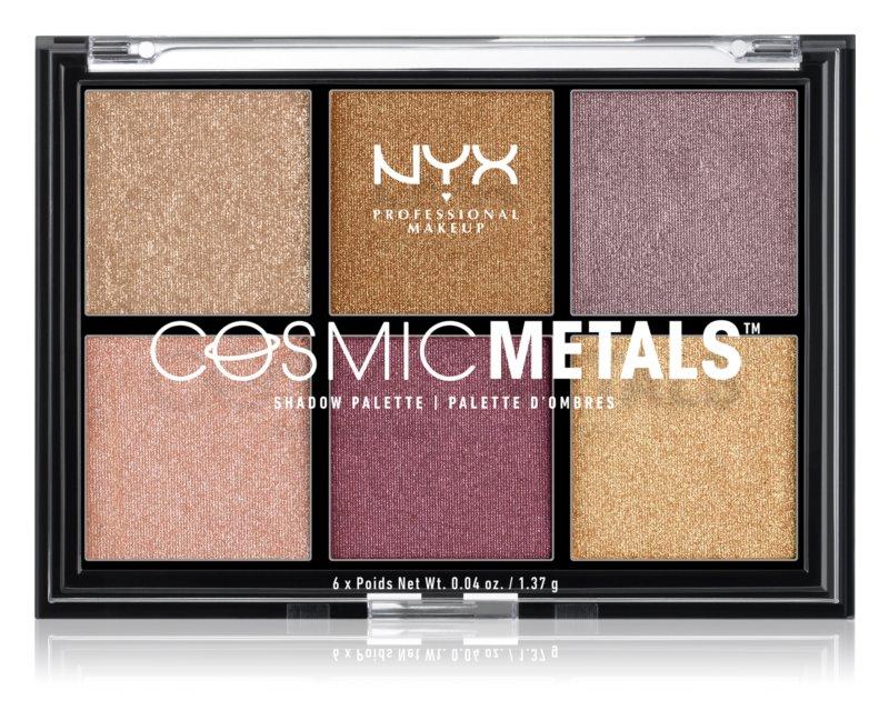 NYX Professional Makeup Cosmic Metals™ paleta senčil za oči