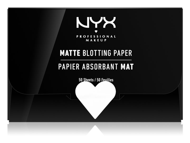 NYX Professional Makeup Blotting Paper zmatňujúce papieriky