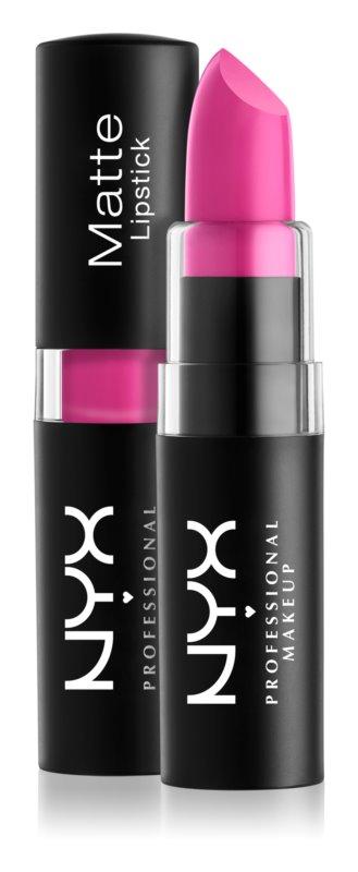 NYX Professional Makeup Matte Lipstick klasický matný rúž