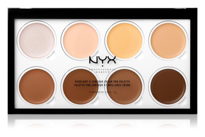NYX Professional Makeup Highlight & Contour konturovací paletka