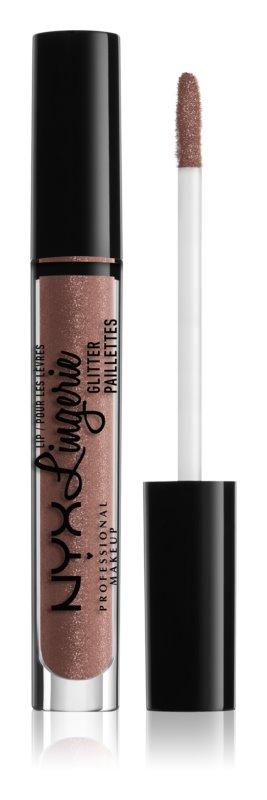 NYX Professional Makeup Lip Lingerie Glitter lesk na pery s trblietkami