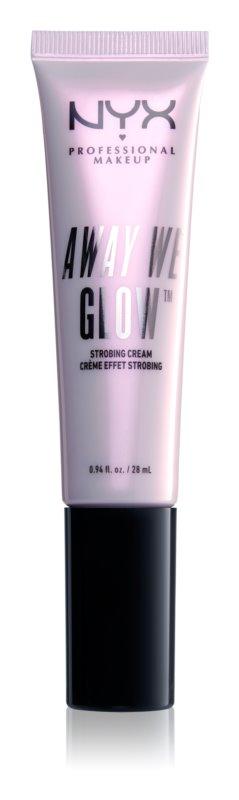 NYX Professional Makeup Away We Glow rozjasňující krém