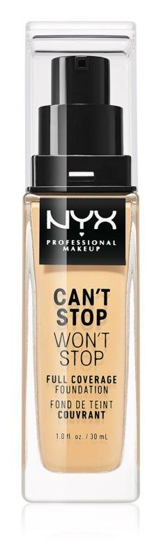 NYX Professional Makeup Can't Stop Won't Stop fond de teint haute couvrance