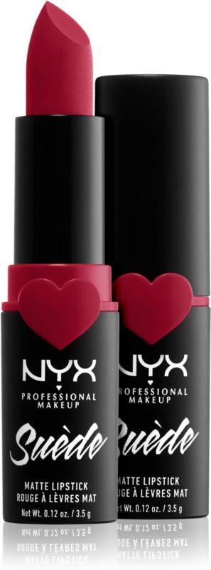 NYX Professional Makeup Suede Matte Lipstick matirajoča šminka