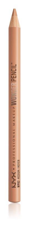 NYX Professional Makeup Wonder Pencil crayon correcteur et contours yeux, lèvres et imperfections