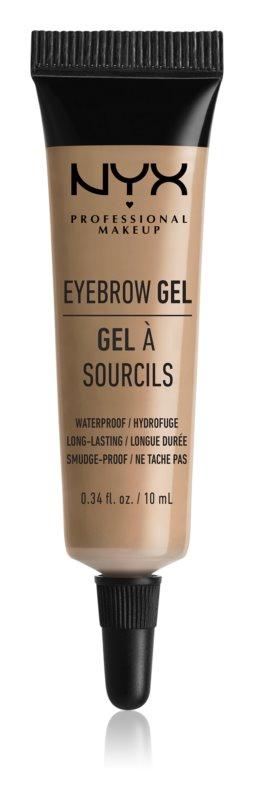 NYX Professional Makeup Eyebrow Gel voděodolný gel na obočí