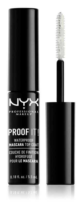 NYX Professional Makeup Proof It! voděodolný top coat na řasy