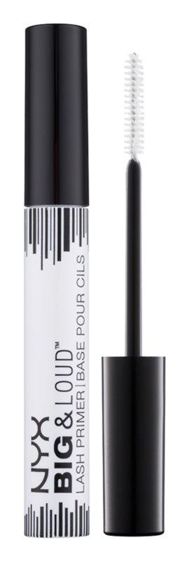 NYX Professional Makeup Big & Loud Base subjacente para máscara para um volume mais rico