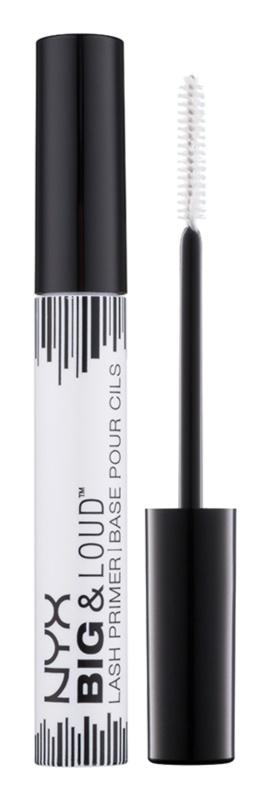 NYX Professional Makeup Big & Loud podkladová báza pod riasenku na bohatý objem