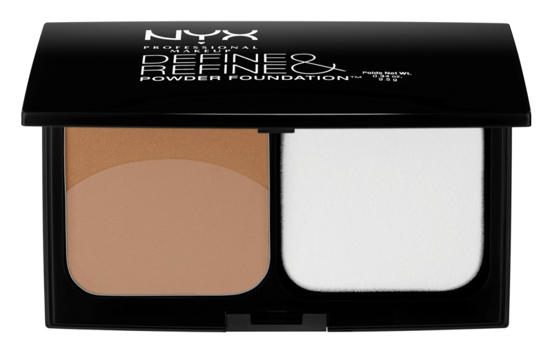 NYX Professional Makeup Define & Refine pudrasti make-up