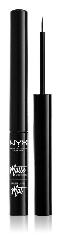 NYX Professional Makeup Matte Liquid tekuté linky na oči s matným finišom