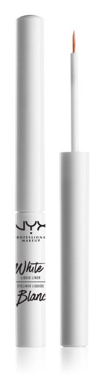 NYX Professional Makeup Liquid Liner biele tekuté linky na oči