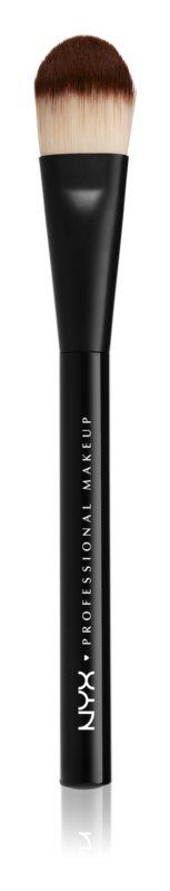 NYX Professional Makeup Pro Brush ploščat čopič za make-up