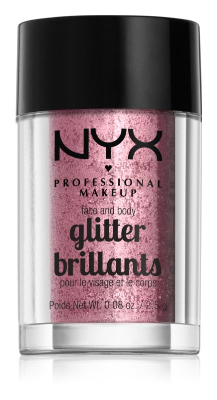 NYX Professional Makeup Glitter Goals Glitre na tvár i telo