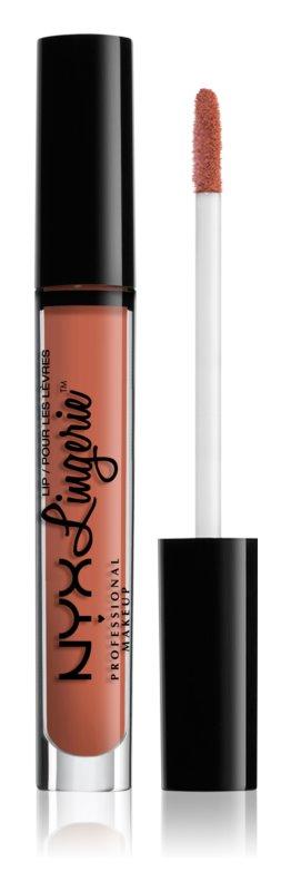 NYX Professional Makeup Lip Lingerie rouge à lèvres liquide avec fini mat