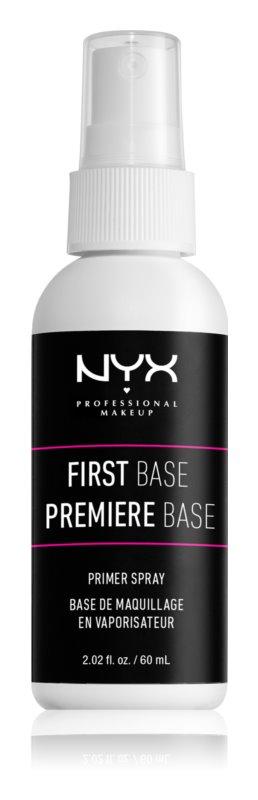 NYX Professional Makeup First Base Primer Spray base de maquillage en vaporisateur