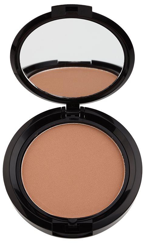 NYX Professional Makeup Stay Matte But Not Flat púderes make-up matt hatással