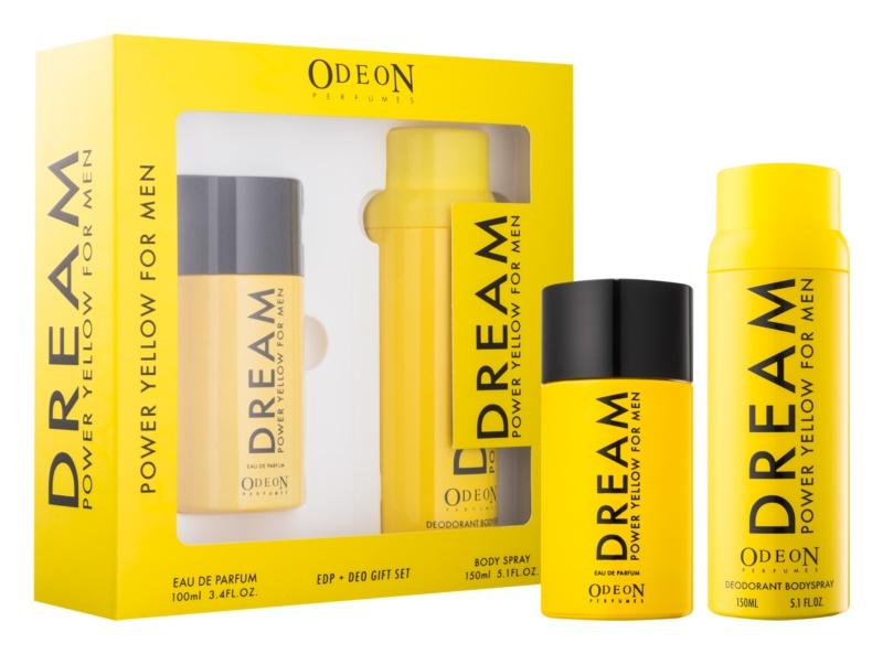 Odeon Dream Power Yellow σετ δώρου I.