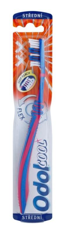 Odol Cool Deep Reach escova de dentes medium