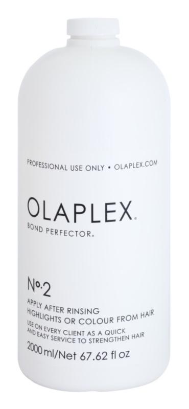 Olaplex Professional Bond Perfector erneuernde Pflege zur Verringerung von Schäden während des Haarefärbens mit Pumpe