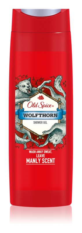 Old Spice Wolfthorn gel de dus pentru barbati 400 ml
