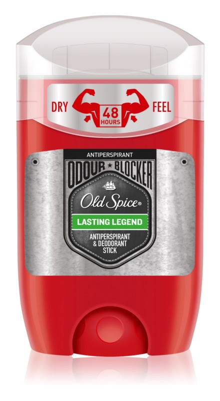 Old Spice Odour Blocker Lasting Legend antitranspirante en barra