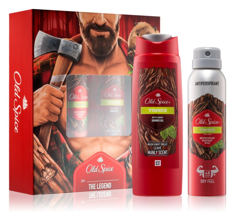 Old Spice Timber darilni set I.