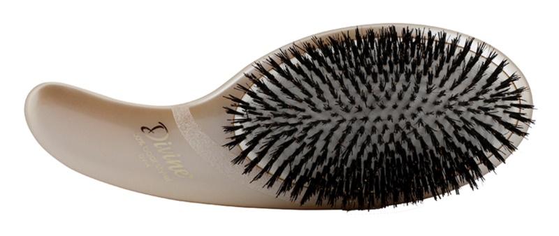 Olivia Garden Divine 100 % Boar Styler escova de cabelo