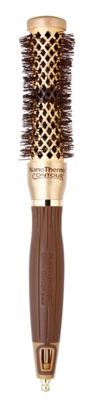 Olivia Garden NanoThermic Contour Thermal Collection kartáč na vlasy