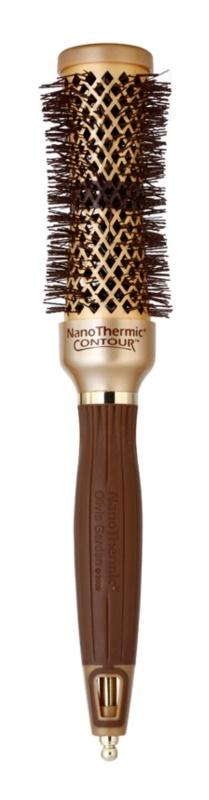 Olivia Garden NanoThermic Contour Thermal Collection kefa na vlasy