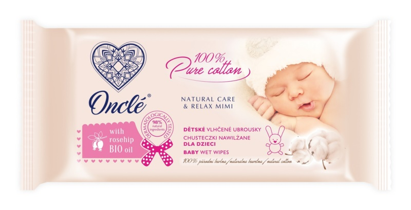 Onclé Baby toallitas húmedas limpiadoras para bebé lactante