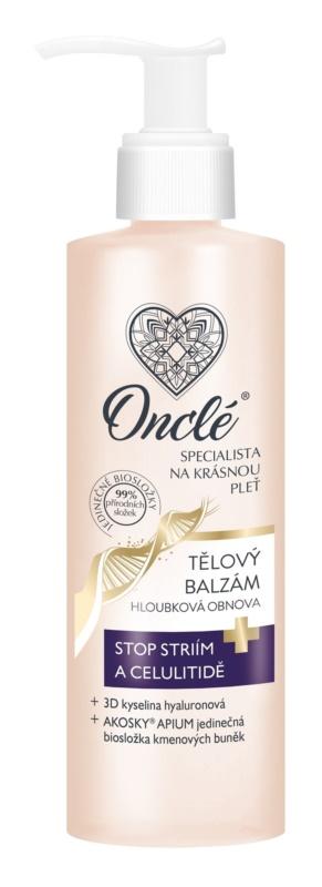 Onclé Woman festigendes Bodybalsam gegen Cellulite und Schwangerschaftsstreifen