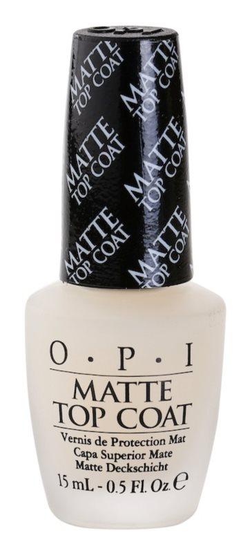 OPI Matte Top Coat lac de unghii mat