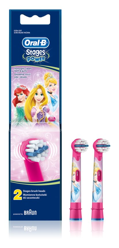 Oral B Stages Power EB10 Princess capete de schimb pentru periuta de dinti foarte moale