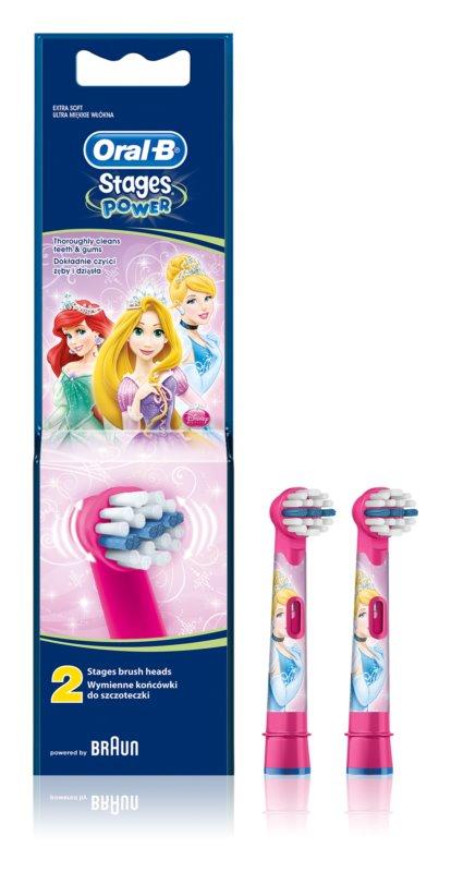 Oral B Stages Power EB10 Princess recambio para cepillo de dientes  extra suave