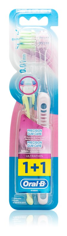 Oral B Precision Gum Care Toothbrushes, 2 pcs Extra Soft