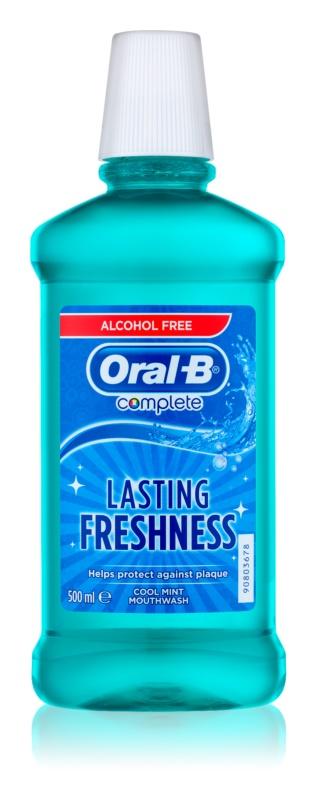 Oral B Complete Healthy Gum Mouthwash against Plaque