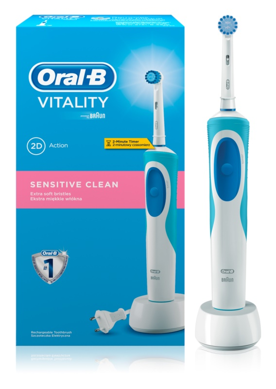 Oral B Vitality Sensitive Clean - D12.513S elektryczna szczoteczka do zębów