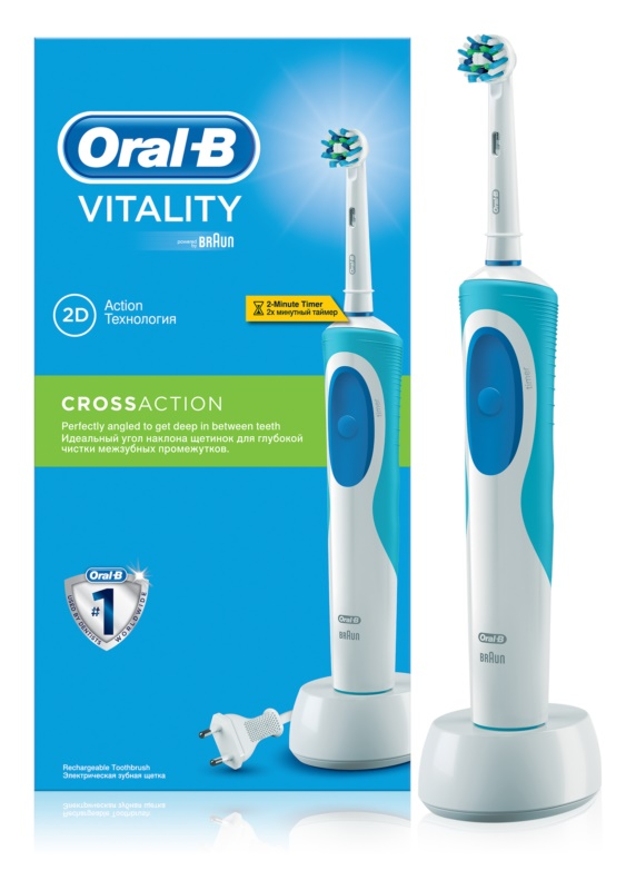 Oral B Vitality Cross Action D12.513 Electric Toothbrush