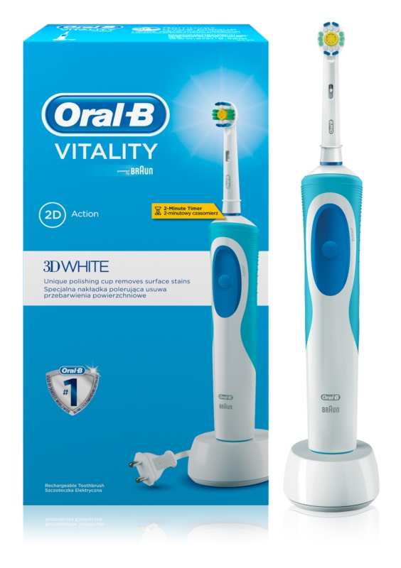Oral B Vitality 3D White D12.513 cepillo de dientes eléctrico