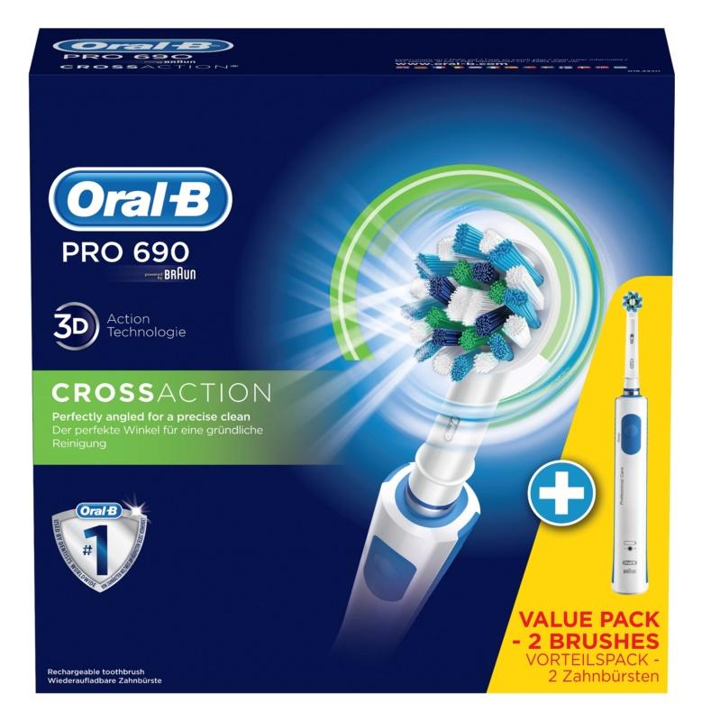 Oral B PRO 690 CrossAction D16.524H cepillo de dientes eléctrico