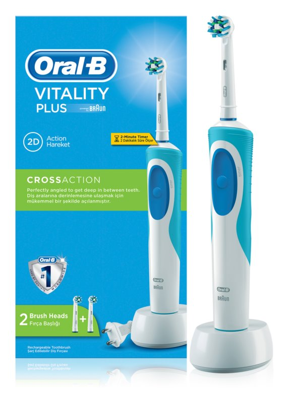 Oral B Vitality Cross Action D12.523 Electric Toothbrush