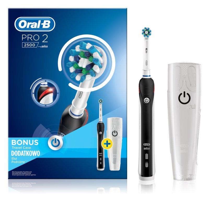 Oral B Pro 2500 Black D20.513.2MX elektryczna szczoteczka do zębów