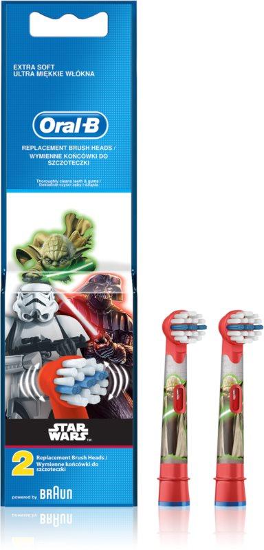 Oral B Stages Power EB10 Star Wars capete de schimb pentru periuta de dinti foarte moale