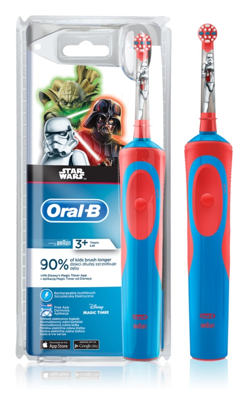 Oral B Stages Power Star Wars D12.513K elektrický zubní kartáček pro děti