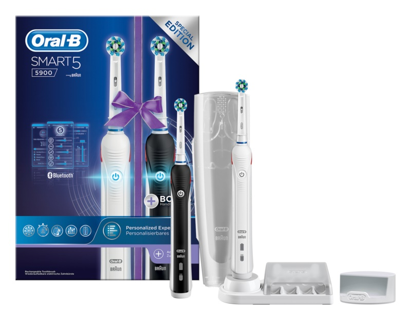 Oral B Smart 5 5900 DUO D601.525.5HXP elektromos fogkefe